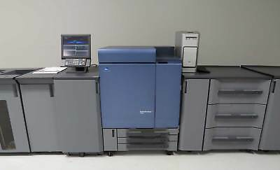 Konica Minolta Bizhub Press C8000 Copier Printer Fiery 1.3K – C7000