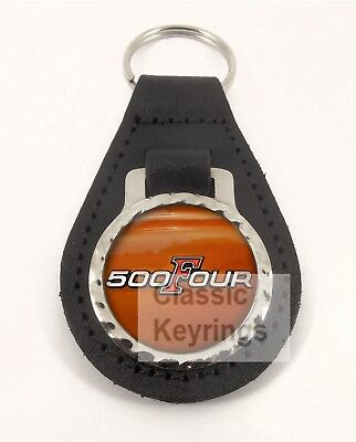 HONDA CB500 CB 500 FOUR leather motorcycle keychain