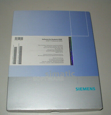 Siemens 6ES7810-5CC10-4YA7 Software for Student 2006 (Step 7 Professional 2006 )