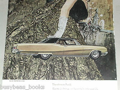1967 Buick advertisement page, Buick Electra 225, 4-door hardtop