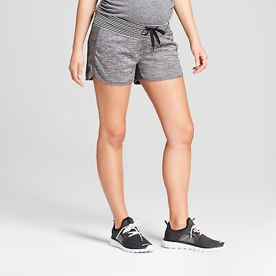 C9 by Champion Maternity Sport Shorts Dark Heather Gray - Size Small Buy1Get1