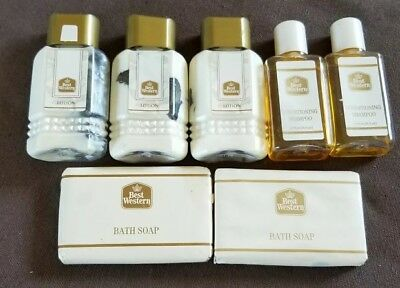 Vintage Best Western Complimentary Toiletry Lot