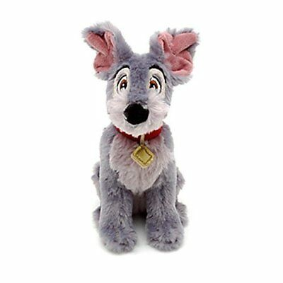 Official Disney Store Lady & The Tramp 18cm tramp Soft Plush bean Toy