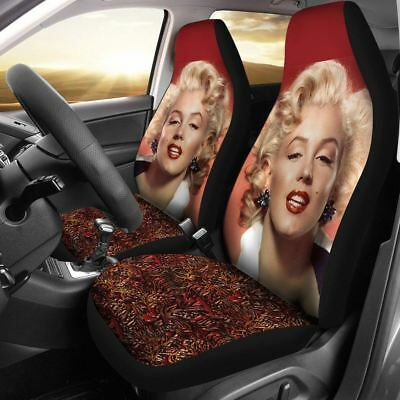 Marilyn Monroe Red Pattern Car Seat Cover