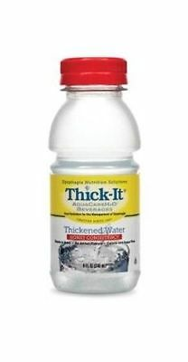 Thick-It Thickened Water, AquaCare H2O Honey Consistency 8 oz, 24 bottles
