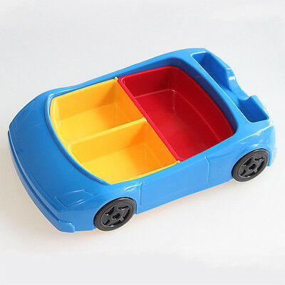 Friendship style Cartoon Car Children Dinner Plate Fruit Food Feeding bowl Hot