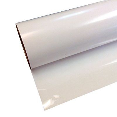 "Siser Easyweed White HTV 15"" X 5' Iron On Adhesive Heat Transfer Vinyl Roll"