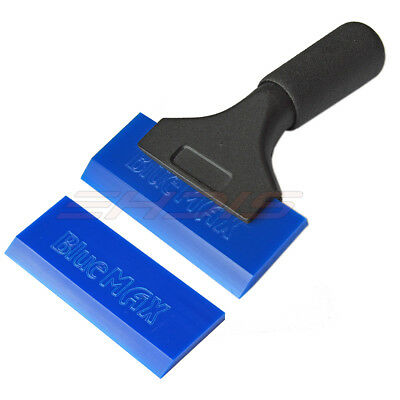 Car Vinyl Wrapping Tools Rubber Squeegee Water Wiper Handle Scraper Window Tint