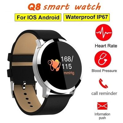 Smartwatch Band Reloj Inteligente Bluetooth Impermeable Mate Para Android/IOS Q8