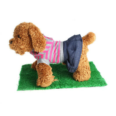 Dog Training Indoor Potty Synthetic Green Grass Pee Pad For Pet Puppy Restroom