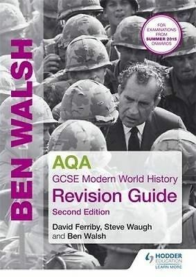 Study Guide: AQA GCSE Modern World History Revision Guide 2nd Edition (Mixed med