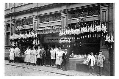 pt0272 - Co-op Butchers , Barnsley , Yorkshire - photo 6x4