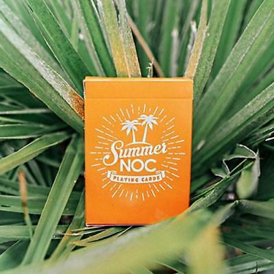 Summer NOC Playing Cards Limited Edition Yellow Marked Deck
