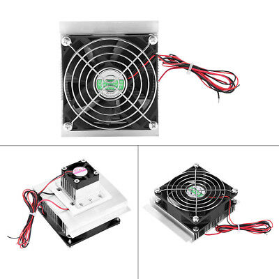 12V 6A Thermoelectric Peltier Refrigeration Cooling Fan System Kit CPU Cooler