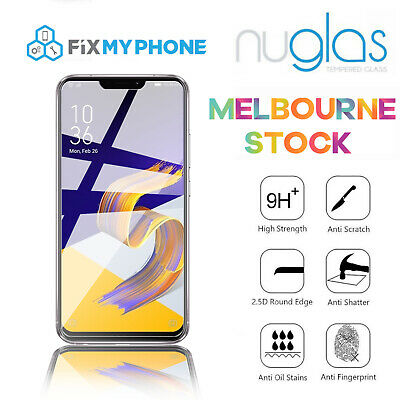 """Genuine Nuglas Tempered Glass Screen Protector For Asus Zenfone 5Z ZS620KL 6.2"""""""