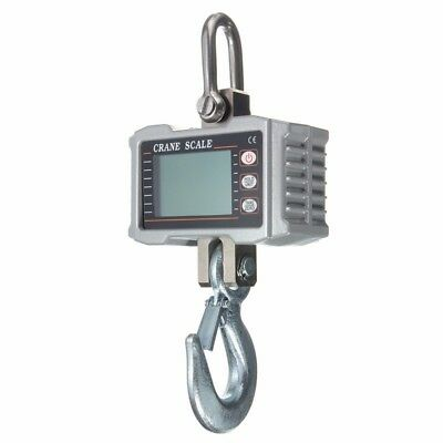 1000kgElectronic Portable Mini Crane Scale Weight Digital LCD Heavy Hanging Hook