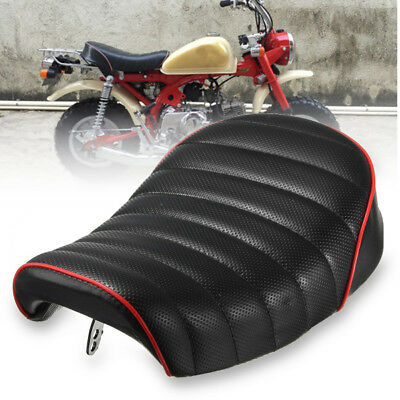 Motorcycle Vintage Seat Rear Back Cafe Racer Seat Hump Saddle For Harley Honda