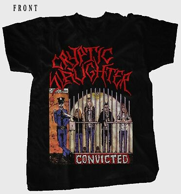 CRYPTIC SLAUGHTER-Convicted-Thrash metal-Nuclear Assault,T-shirt Sizes:S to 7XL