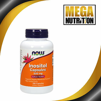 Now Foods, Inositol Capsules, 500mg x100caps