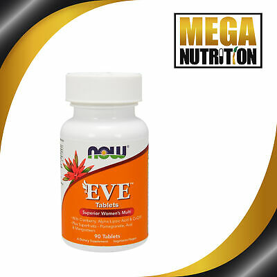 NOW Foods Eve Superior Womens Multi 90 Tablets | Cranberry Alpha Lipoic Acid