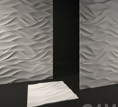 *WIND* 3D Decorative Wall Panels 1 pcs ABS Plastic mould for Plaster, Gypsum