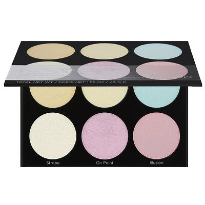 BH Cosmetics Blacklight Highlight 6 Color Palette
