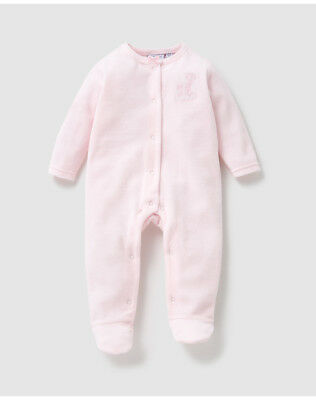 cbc3c55dc2ceb PYJAMA EN VELOURS bébé fille Cotton Juice rose A24932546 - EUR 8
