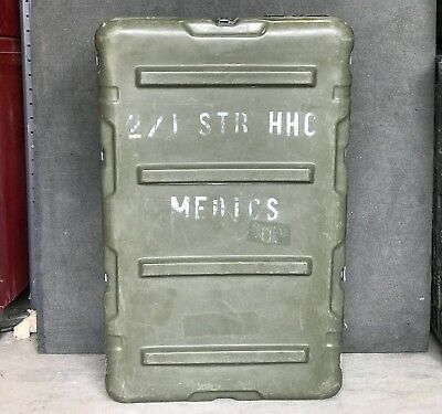 """Pelican Hardigg Military Medical Chest 