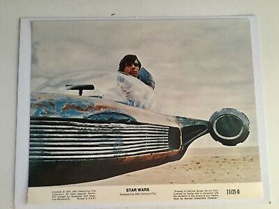 Star Wars Original Luke Skywalker rare numbered lobby card 1977