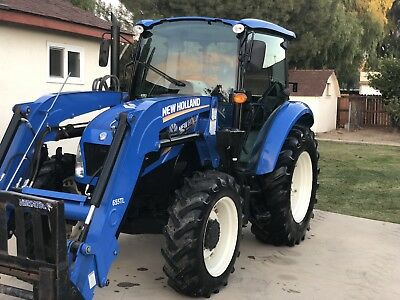 New Holland T4.75 Tractor Enclosed Cab, In & Out Immaculate,