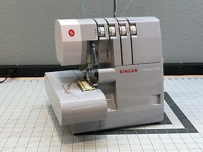 SINGER 40HD40 HEAVY Duty Overlock Serger Sewing Machine 4040 Custom Overlock Sewing Machine Singer