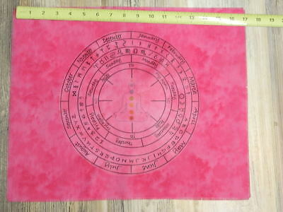 Unique Altar Alter Cloth For Pendulum Wicca Witch Pink Tie Dyed