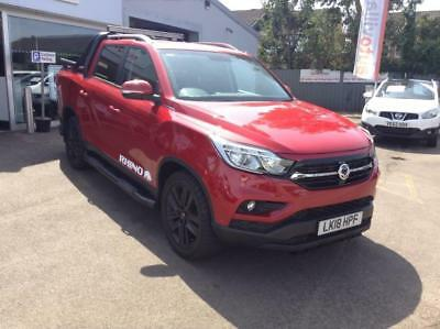 2018 SsangYong Musso 2.2 RHINO AUTO LTD EDITION DEMO NOW 5 door Pick Up