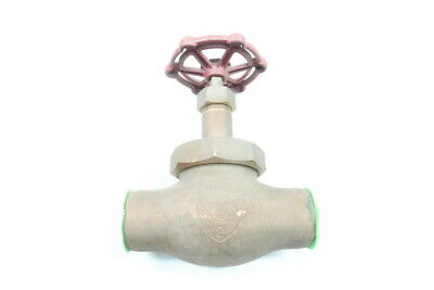 Powell 1823 Union Disc 150 Bronze 2in Solder Globe Valve