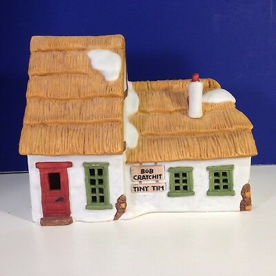 Dept 56 Dickens Village THE COTTAGE OF BOB CRATCHIT AND TINY TIM w/ box