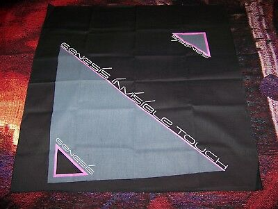 Vintage 1986 GENESIS INVISIBLE TOUCH Album Bandana Headband Scarf PHIL COLLINS