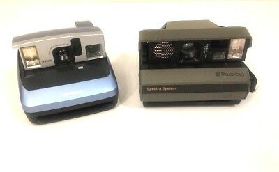 Polaroid Spectra System and One 600 (Tested) Working Camera Vintage