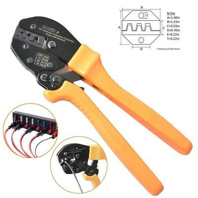 Iwiss Powerpole Ratcheting Wire Crimper Tools For 15 30 and 45 Anderson 1.3 Lb