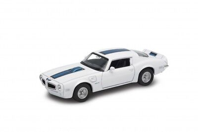 1972 PONTIAC FIREBIRD TRANS AM Welly 43735 F White wit