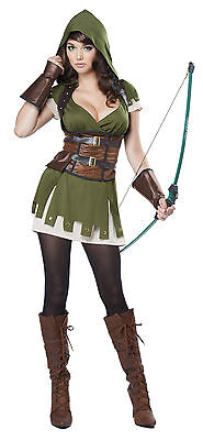 Renaissance Lady Robin Hood Medieval Times Adult Costume