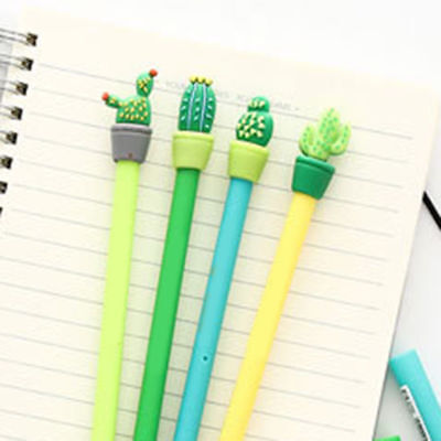 0.5mm Cute Cactus Plastic Mechanical Pencil Automatic Pen Kawaii Stationery YK