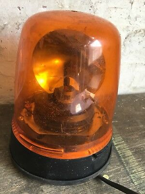 Vintage Rotating Amber Beacon Britax 390 Series Vehicle Part Safety Light
