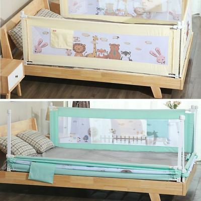 Adjustable Kids Infant Bed Guard Rail Toddler Baby Safety Fence (Only one side)