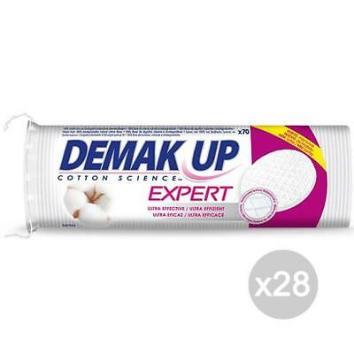 Set 28 DEMAK'UP Cotton Disketten X 70 Reinigung Und Pflege Gesicht