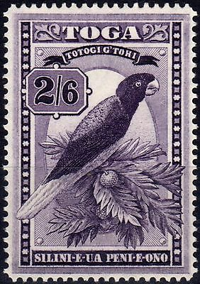 Tonga 1943 2s6d Dp Purple SG81 Fine & Fresh Mtd Mint