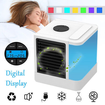 Portable Mini Air Cooler Conditioner Conditioning Fan Personal USB Humidifier