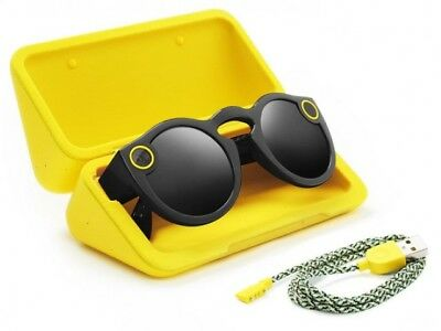Snapchat Snap Spectacles Black (Camera Glasses) (REFURBISHED)