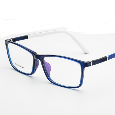 bc79f9dbbf8a Sports TR90 Silicone Students Eyeglass Frames Full-rim RX Glasses Blue  Gradient