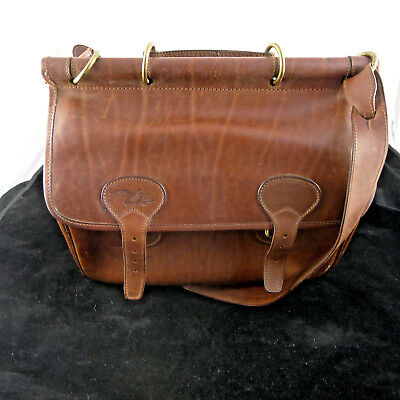 Man Men Leather Bag Vintage Italy Medico Borsa Dottore Valigetta Pelle Beccasse