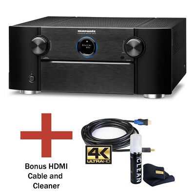 Marantz SR8012 11.2-Channel Home Theater Receiver with Wifi, Dolby and Bundle